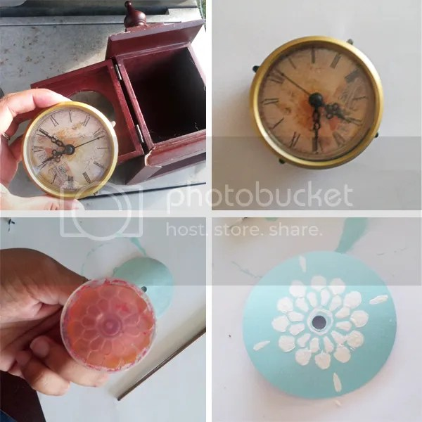 refinish clock