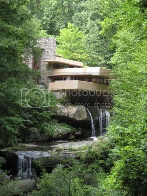 F. L. Wright: Fallingwater, Mill Run