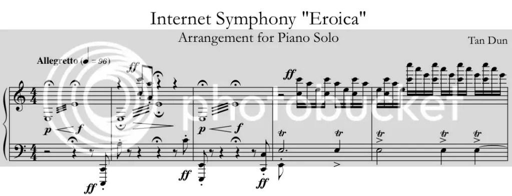 Tan Duns Internet Symphony (Eroica)