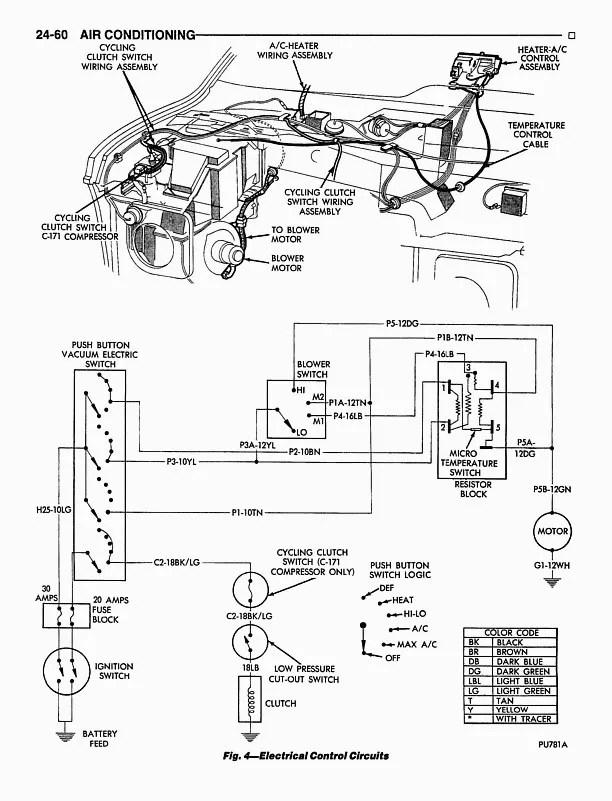 Ram Van Heater Control Valve On Dodge Vacuum Heater