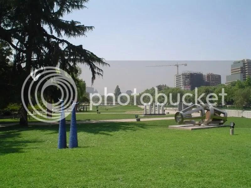 Parque de las Esculturas, Providencia.