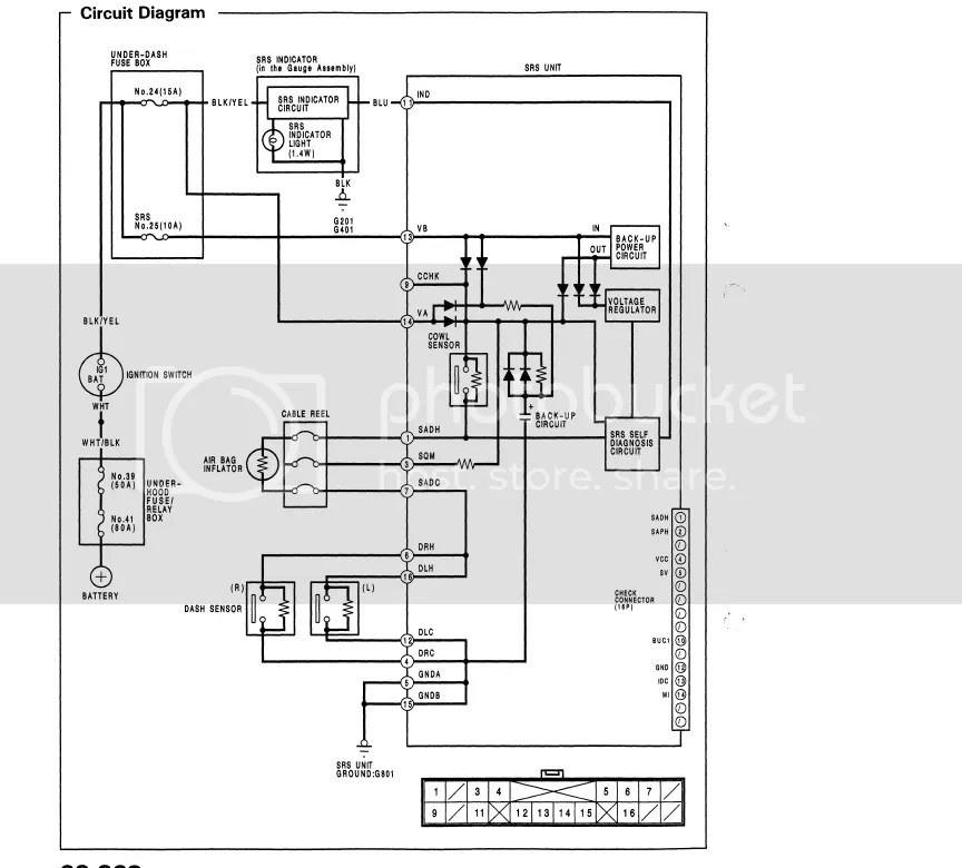 Honda Civic 2005 Electrical Schematic, Honda, Get Free