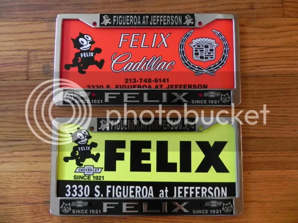 Felix La Plate Chevrolet Lic Frames