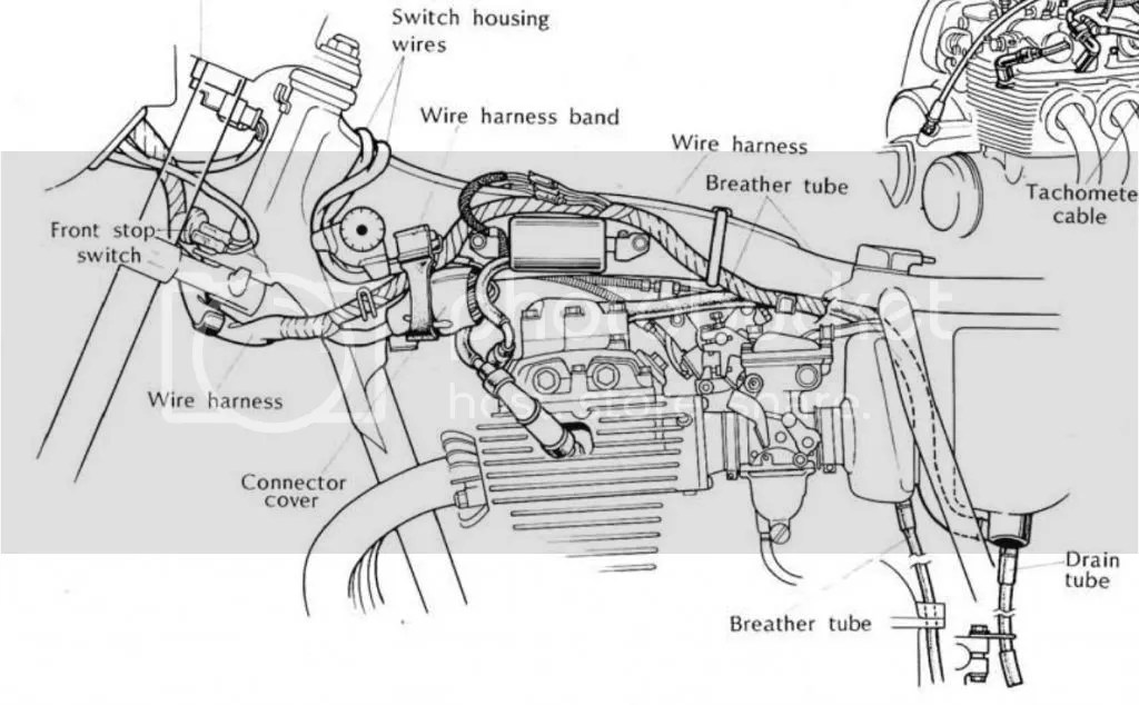 1972 Cb350 Ignition Wiring Diagram CB350 Parts Diagram