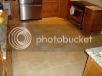 Travertine or Porcelain Tile Floor? Polished vs matte ...