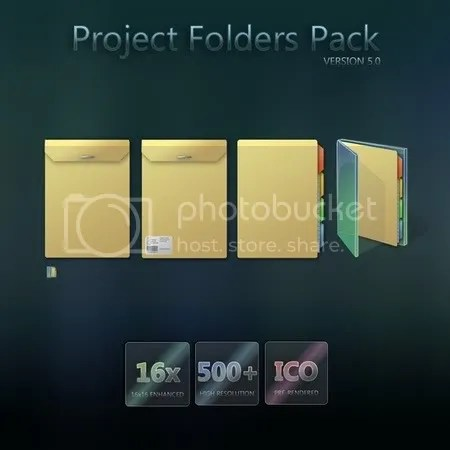 Project Folder pack