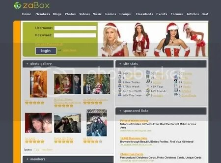zaBox.net - Social Networking with style