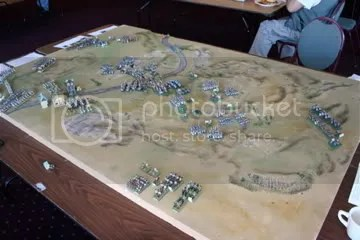 Action shot from the Dresden board