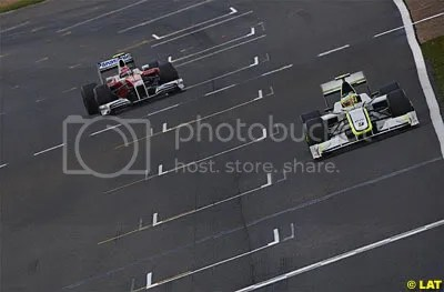 Barrichello and Glock look set to be leaving their respective 2009 teams