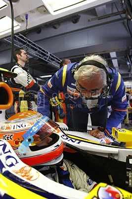 Briatore and Piquet, not a happy Papa