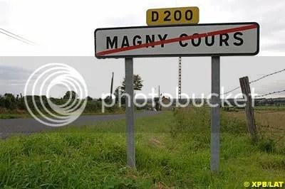 No more Magny cours!