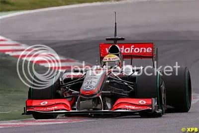 Hamilton & McLaren.......struggling
