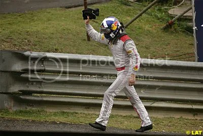 Goodbye David Coulthard!