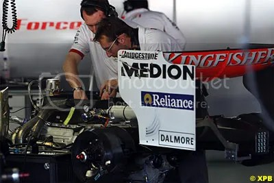 No more Ferrari engines for Force India