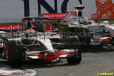 McLaren and Force India