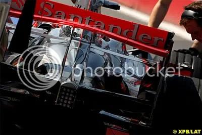 Santander On The McLaren