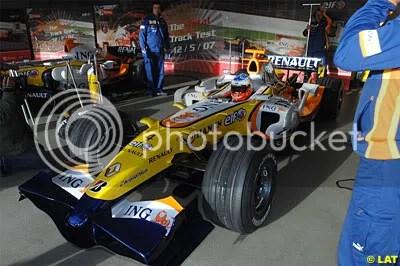 Sebastian Loeb testing Renault