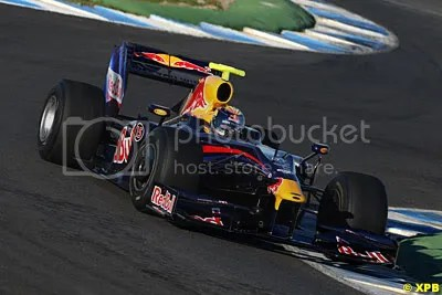 Vettel was fast again in the promising RB5