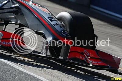 McLaren Mp4-24 front wing