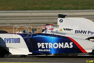 BMW Sauber F1.09 without barge boards