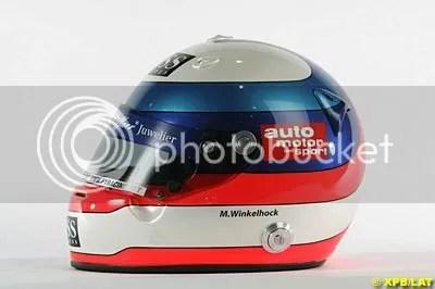 MArkus Winkelhock Helmet