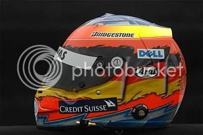 Timo Glock Helmet