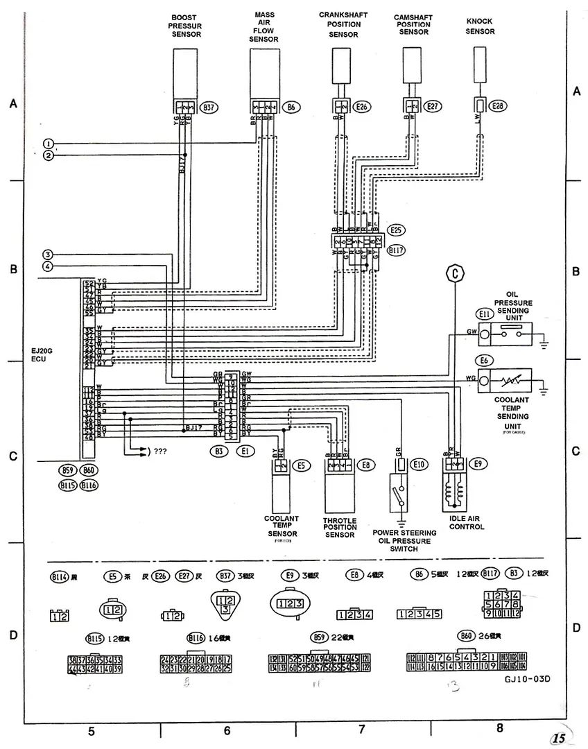 wiring diagram subaru impreza forum wrx sti rally performance