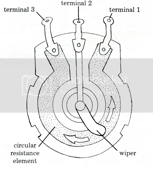 confused on Wiring Potentiometers