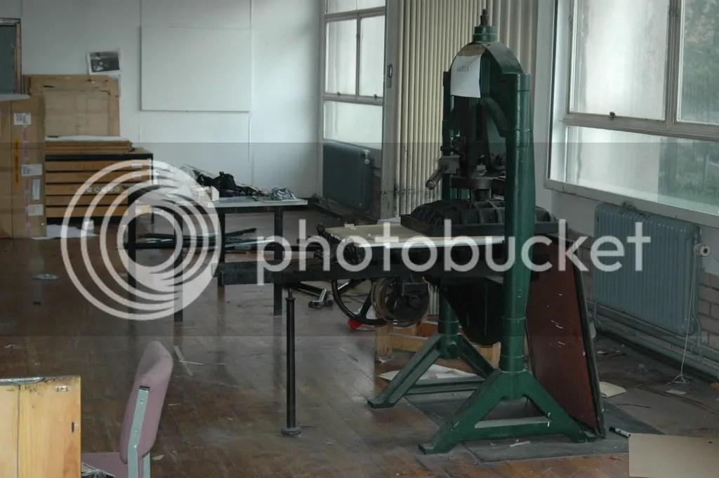 E Block printing presses
