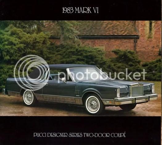 1983 Lincoln Continental Mark VI Pucci