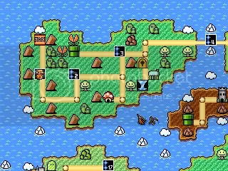 An overworld in which challenges are laid out, with items to find, and prizes to win!