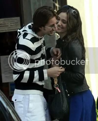 Emmy Rossum and boyfriend