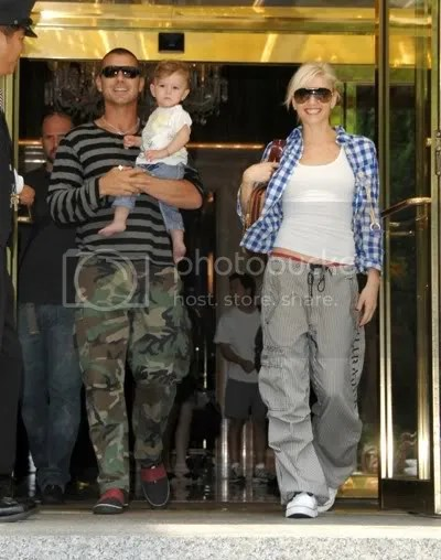Gwen Stefani, Gavin Rossdale, son Kingston
