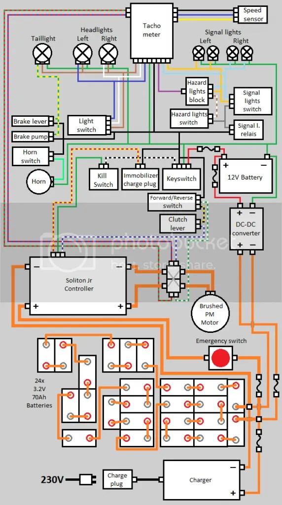Wiring Diagram Electric Car Conversion