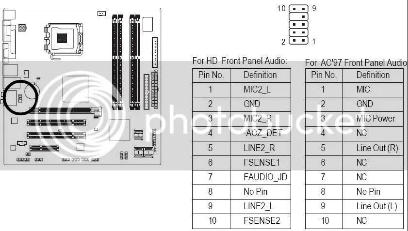 G33M-DS2R Front Audio Help