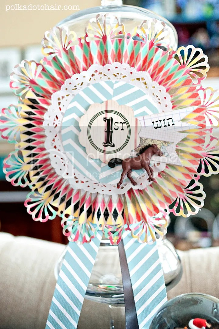 Kentucky Derby Decoration Ideas on polkadotchaircom