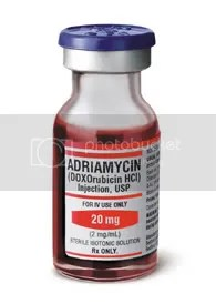 Image result for image of adriamycin red death