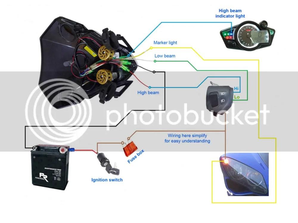 medium resolution of 2008 yfz 450 headlight wiring diagram fjr 1300 headlight
