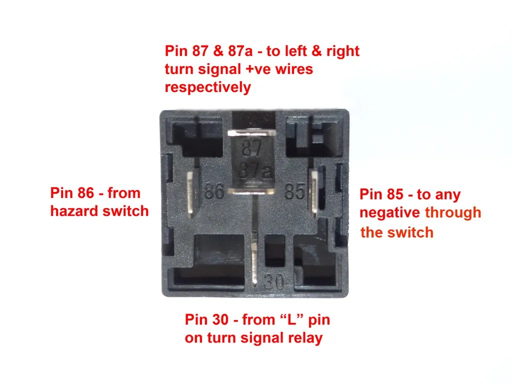 Relay Wiring Diagram Flasher Relay Wiring Diagram Flasher Relay Wiring
