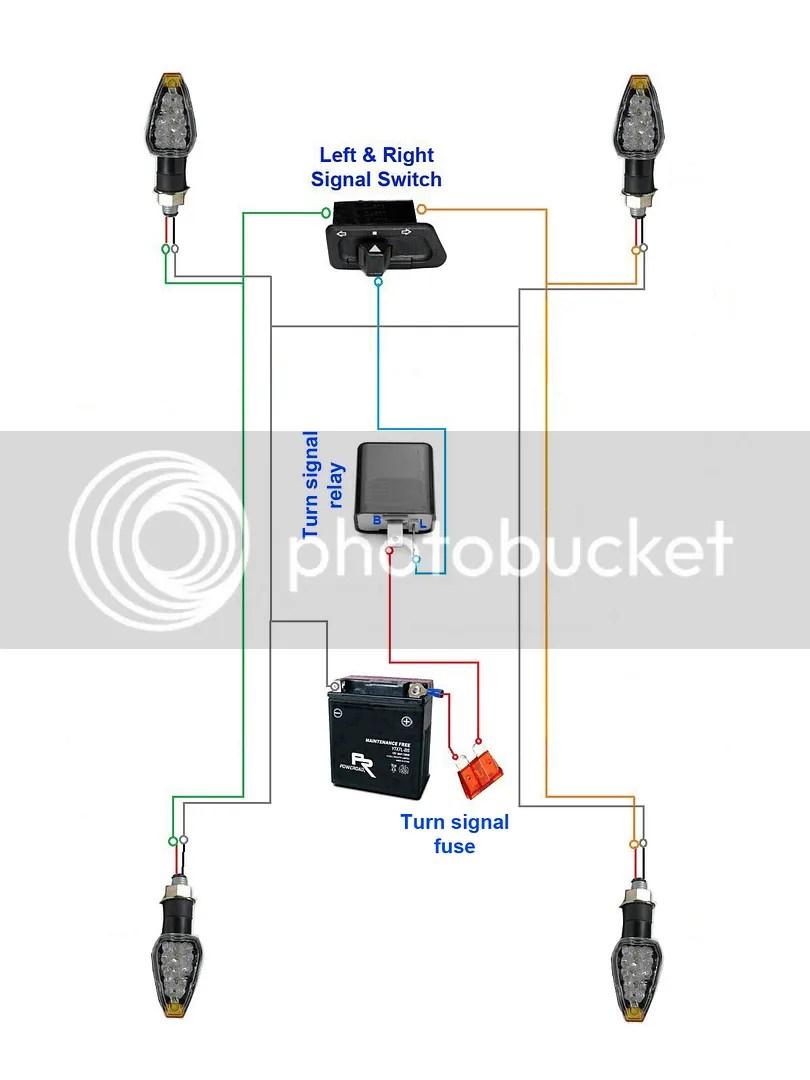 3 pin electronic flasher relay wiring diagram 2001 dodge ram speaker motorcycle diy easy building hazard kit 4-way flash emergency warning signal atv | ebay