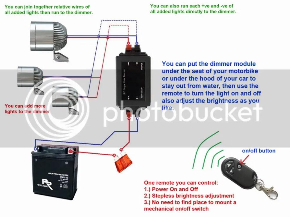 medium resolution of remote spot light wiring diagram