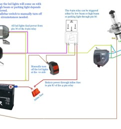 wiring diagram for cree motorcycle lights strobe light honda motorcycle wiring diagrams basic motorcycle wiring diagram [ 1024 x 768 Pixel ]