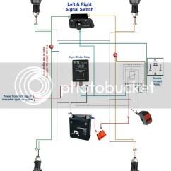 Wiring Diagram For Motorcycle Hazard Lights 2017 Dodge Journey Stereo Universal Car Flasher Blinker Relay Led Turn Signal Indicator Light 6849769865413 | Ebay
