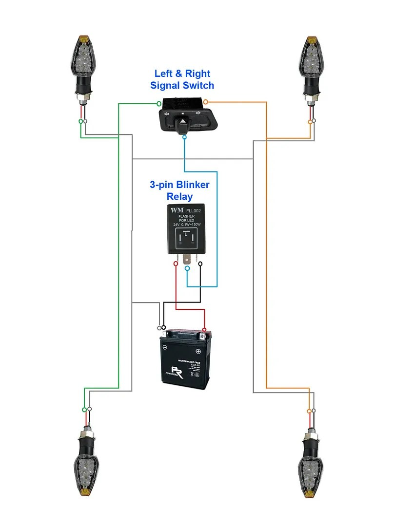 hight resolution of turn signal flasher relay diagram wiring diagram world 3 pin wiring diagram turn signal flasher wiring