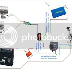 Spotlight Wiring Diagram Uk 8141 00 350lm Led Light X2 2allbuyer