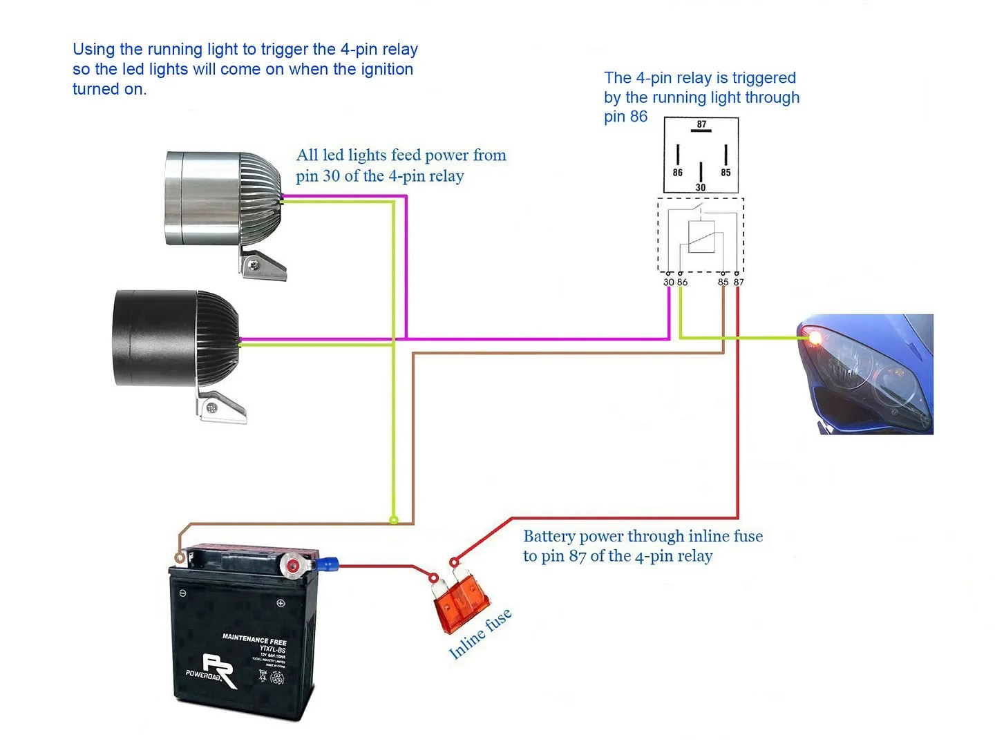 hight resolution of 780lm cree led light x2 2allbuyer 3 way switch light wiring diagram cree u5 wiring