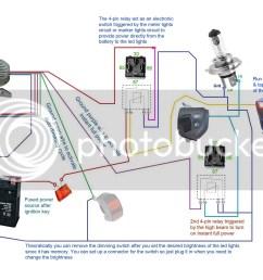 below wiring diagrams showing more setup options 3500lm cree led light  [ 1024 x 768 Pixel ]