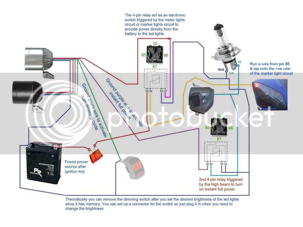 medium resolution of below wiring diagrams showing more setup options