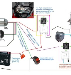 3500lm cree led light x2 switch 2allbuyer below diagrams show how to set up the led [ 1024 x 800 Pixel ]