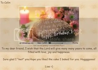 From Lisa